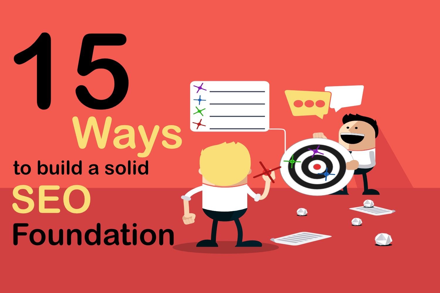 15 Ways to Build a Solid SEO Foundation