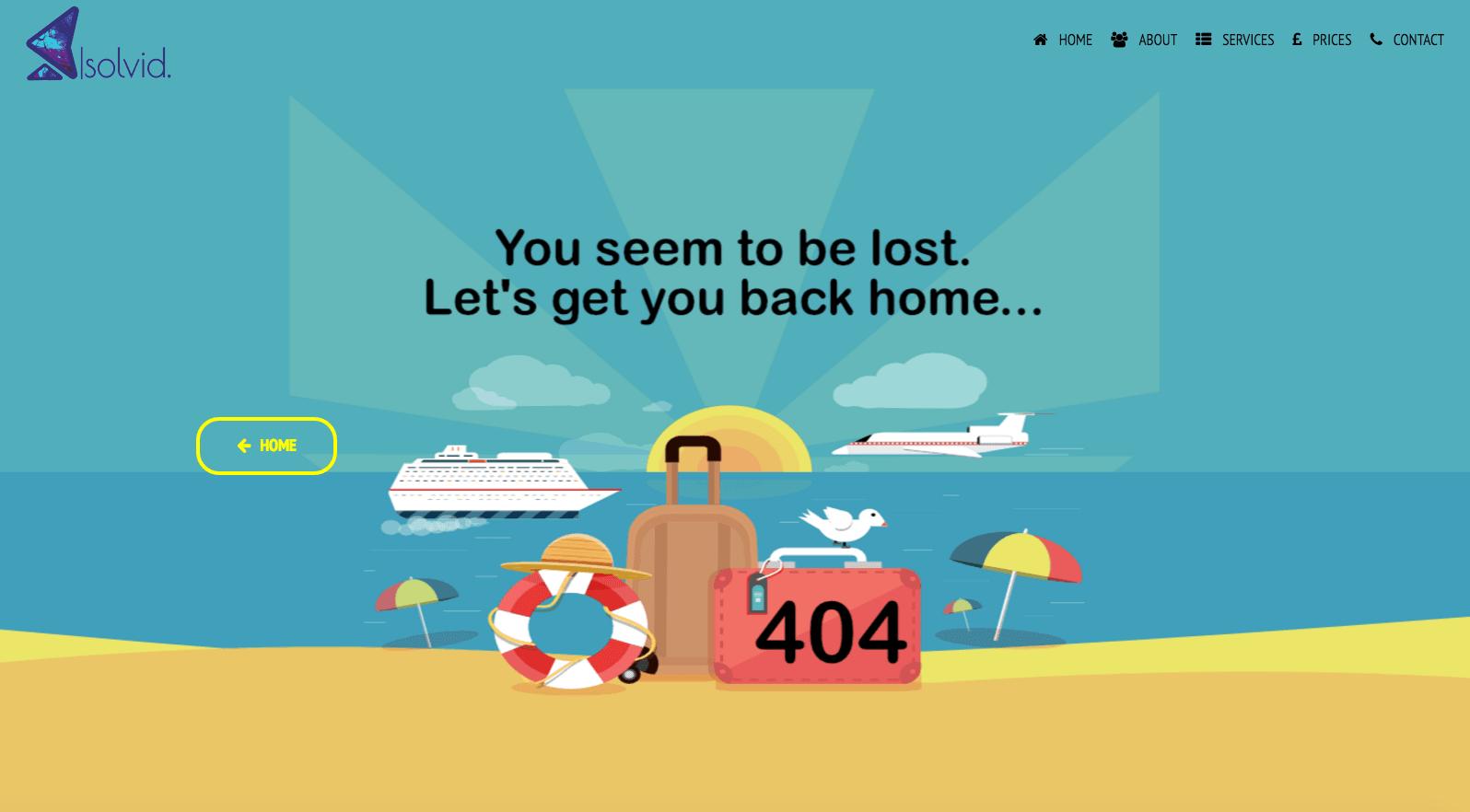 Creative 404 Error