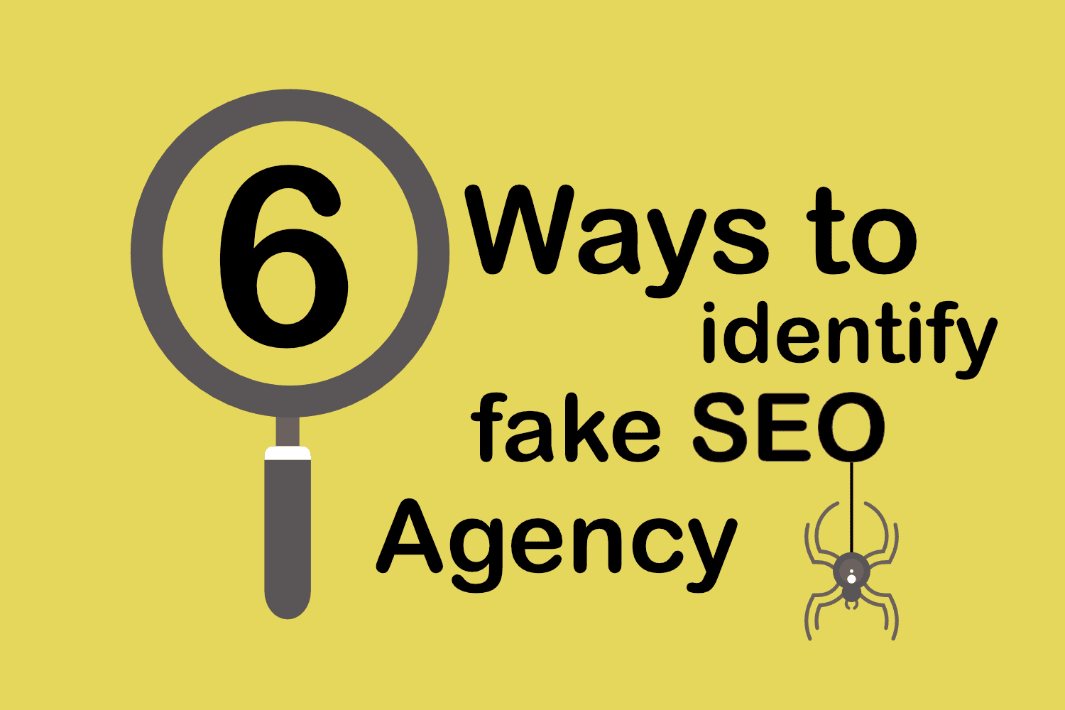 6 Ways to Identify & Detect Fake SEO Agency/Consultant