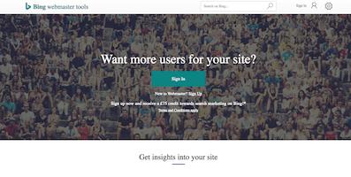 Bing Webmaster Tools