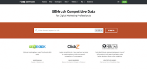 SEM Rush SEO & Keyword Tool