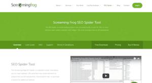 Screaming Frog Technical SEO Tool