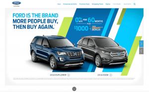 Ford Website 2016
