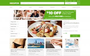 Groupon New Website
