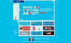 Pepsi Website 2010