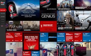 Pepsi Website Now
