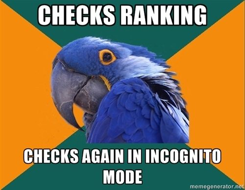 Checks rankings seo meme