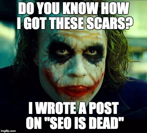 Joker SEO Meme