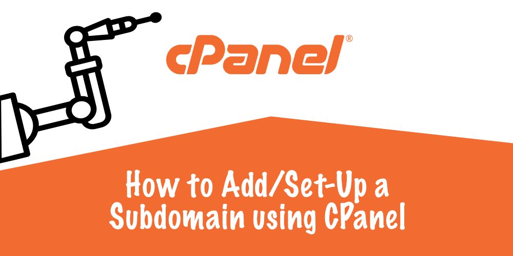 How to create/set-up a subdomain with CPanel & Install WordPress