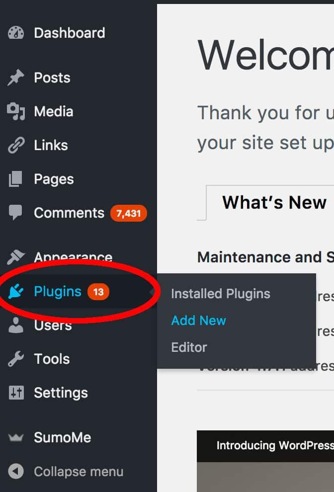 Add a new plugin
