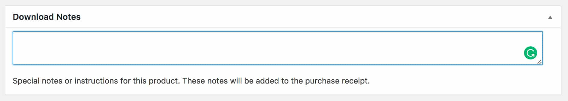 Easy Digital Downloads Adding A Purchase Note