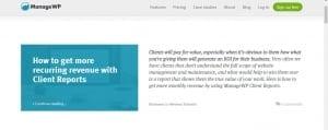 Manage WP Blog