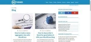 MH Themes WordPress Blog