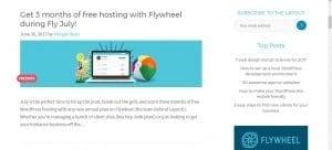 Flywheel Hosting WordPress Blog