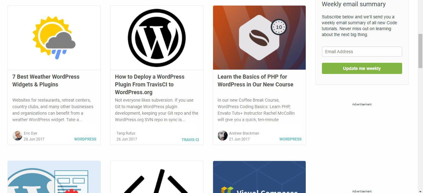 Tuts+ WordPress blog