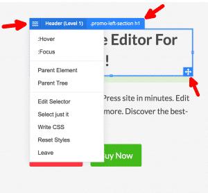 Editing CSS Visually