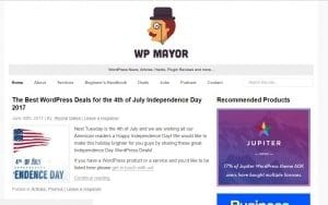 WP Mayor WordPress Blog