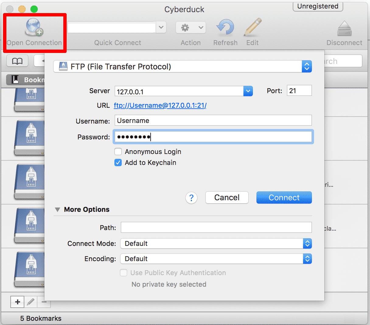 Cyberduck FTP