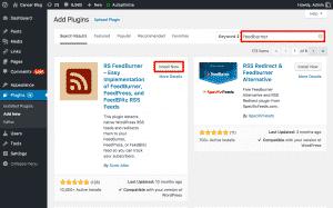 RSS Feedburner Plugin For WordPress