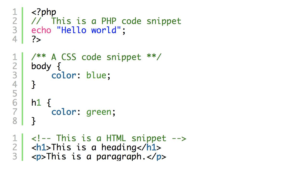 SyntaxHighlighter Evolved Plugin Code Example