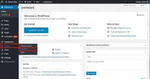Adding new plugin WordPress