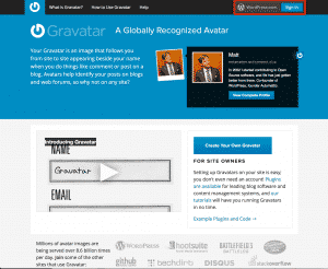 Signing In To Gravatar