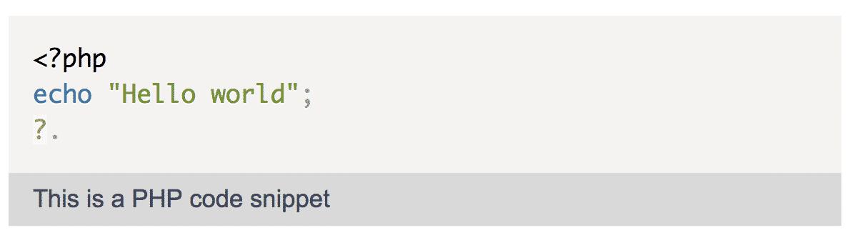 Example PHP Script using pastacode plugin
