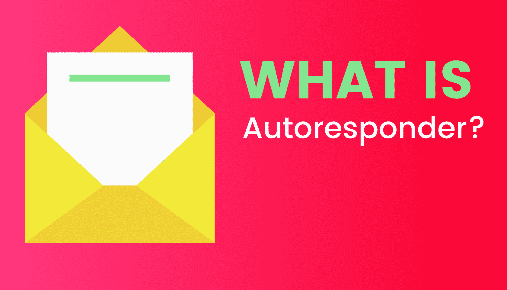 What is: Autoresponder?