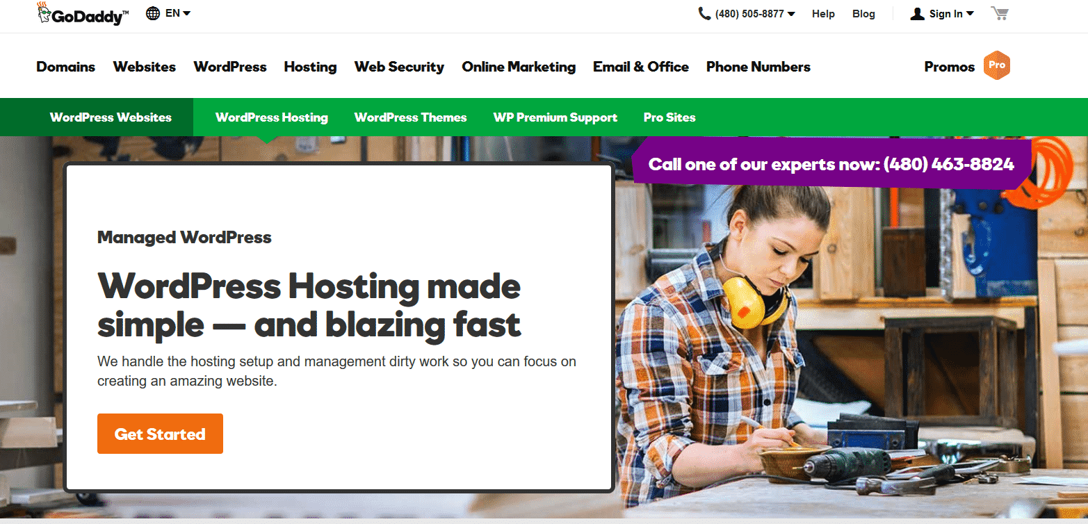 GoDaddy WordPress Hosting
