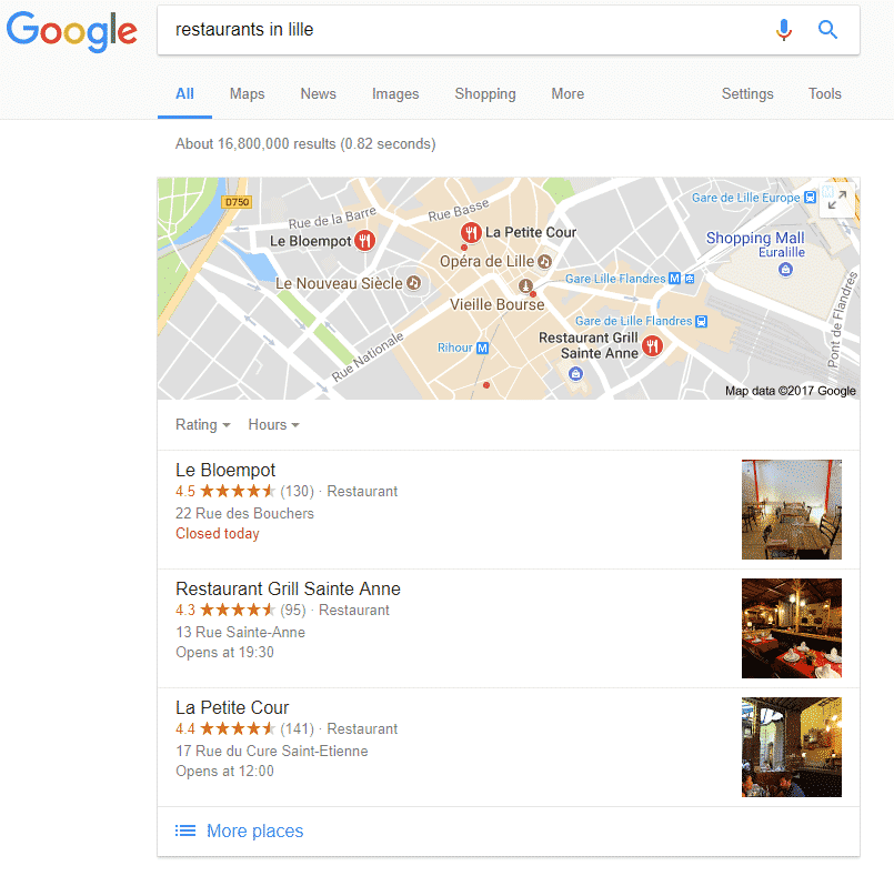 Snack Pack Local SEO Ranking Factors
