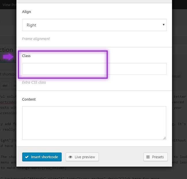 CSS Class Shortcodes Ultimate Plugin