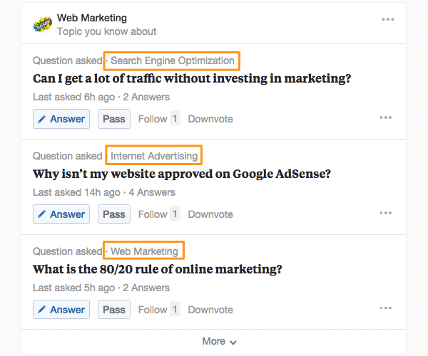 Quora Threads