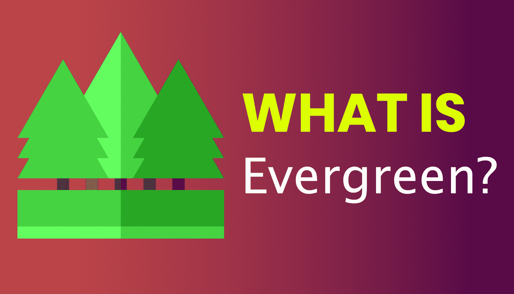 What is: Evergreen Content