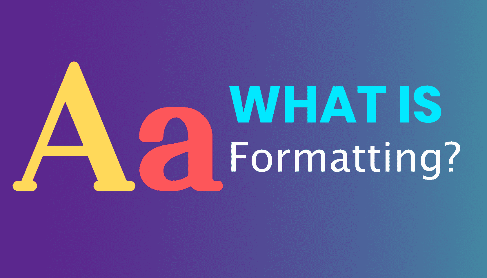 What is: Blog Formatting