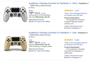 Customised PS4 Controllers For Amazon Affiliate Program