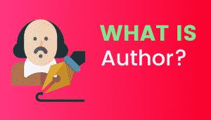 What's Author?