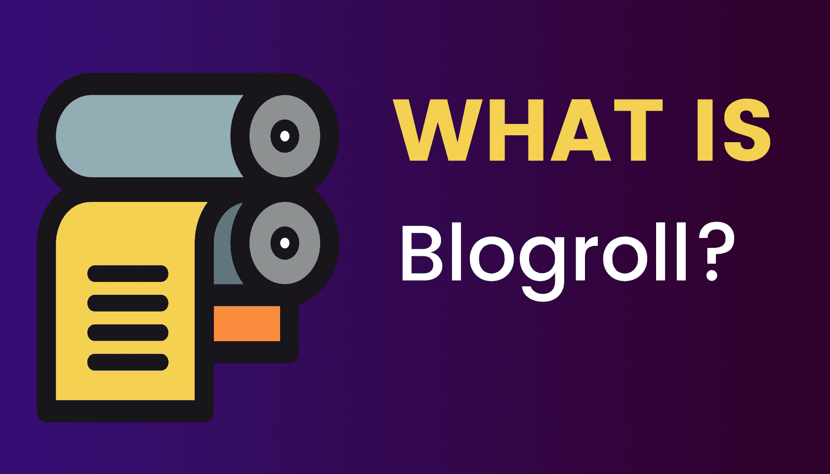 What is: Blogroll (List)