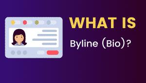 What's Byline (Bio)?
