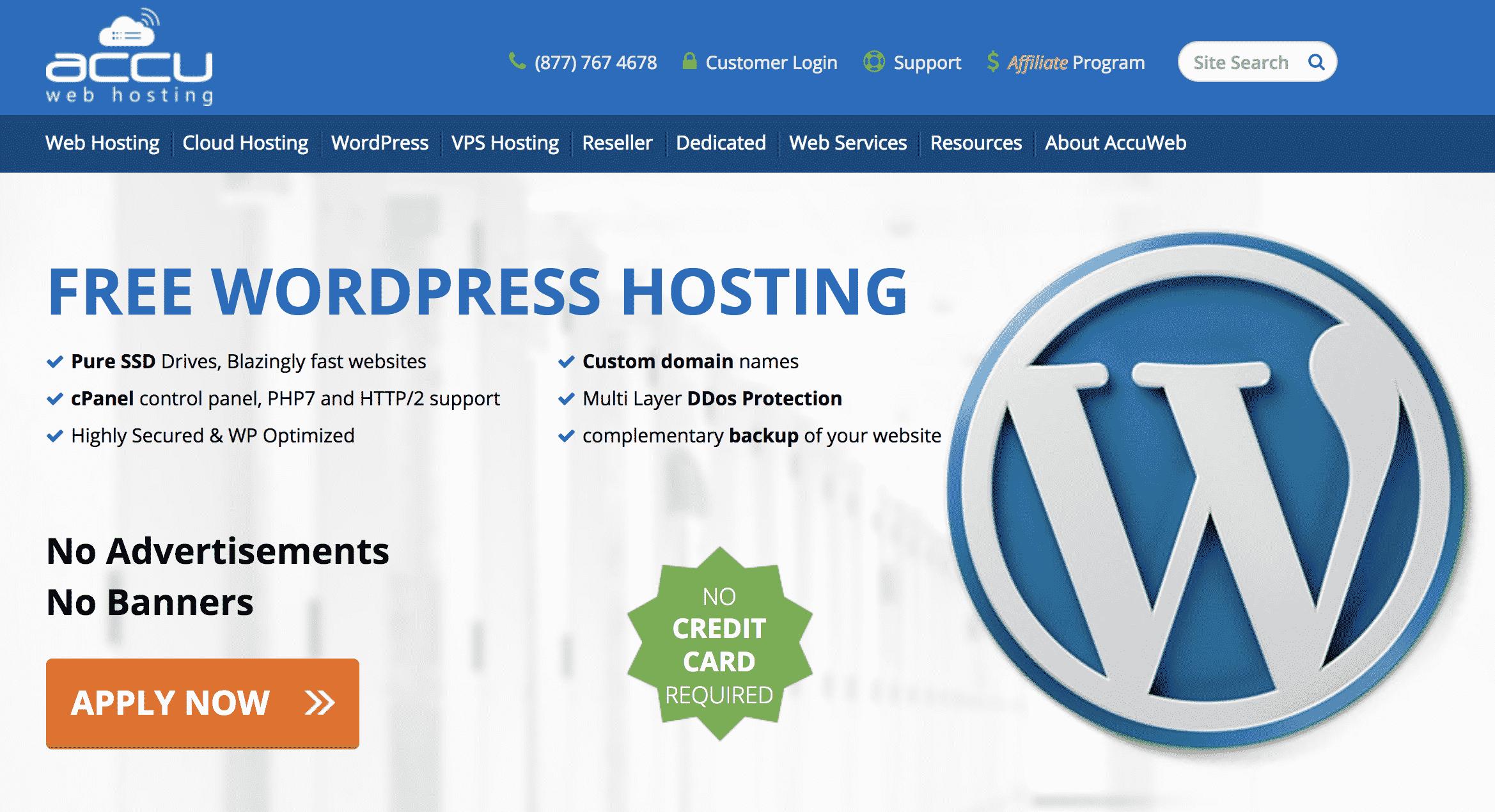 Accu Web Free Hosting