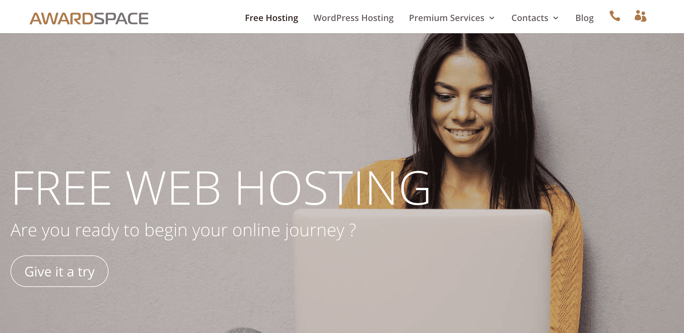 Award Space Free Website Hosting