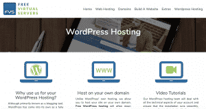 Free Virtual Servers WordPress Hosting