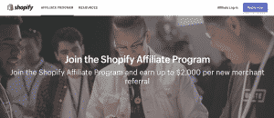 Shopify Affiliate Website