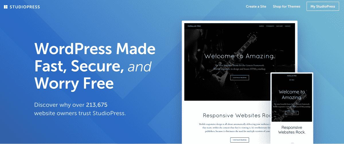StudioPress Affiliate Website