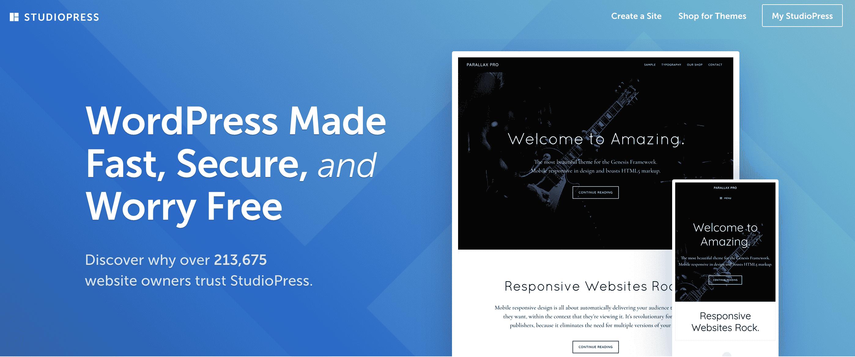 Studiopress Affiliate Marketing Website