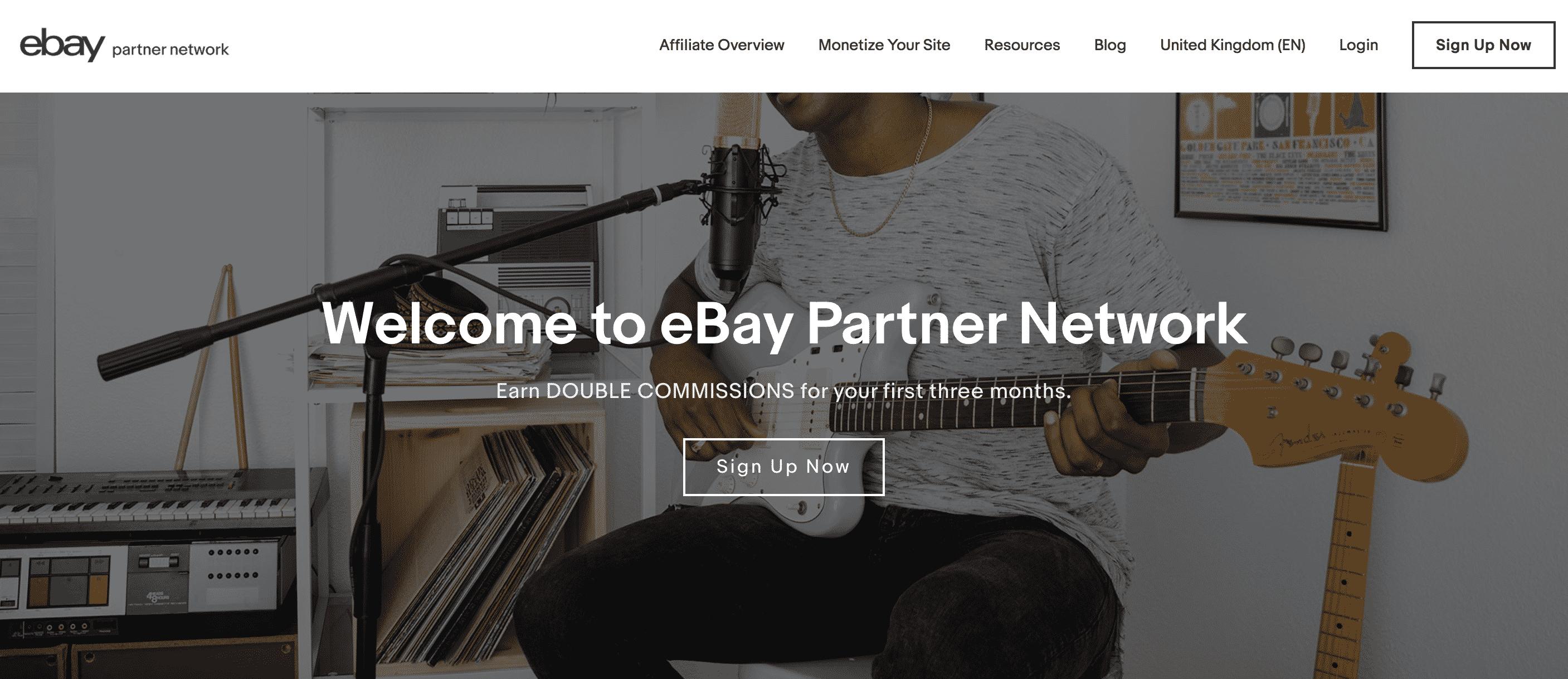 eBay Affiliates Website
