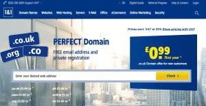1&1 Domain Registrar