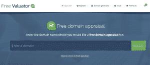 Free Valuator - Domain Name Valuation Tool