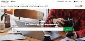 GoDaddy - The Largest Domain Name Registrar