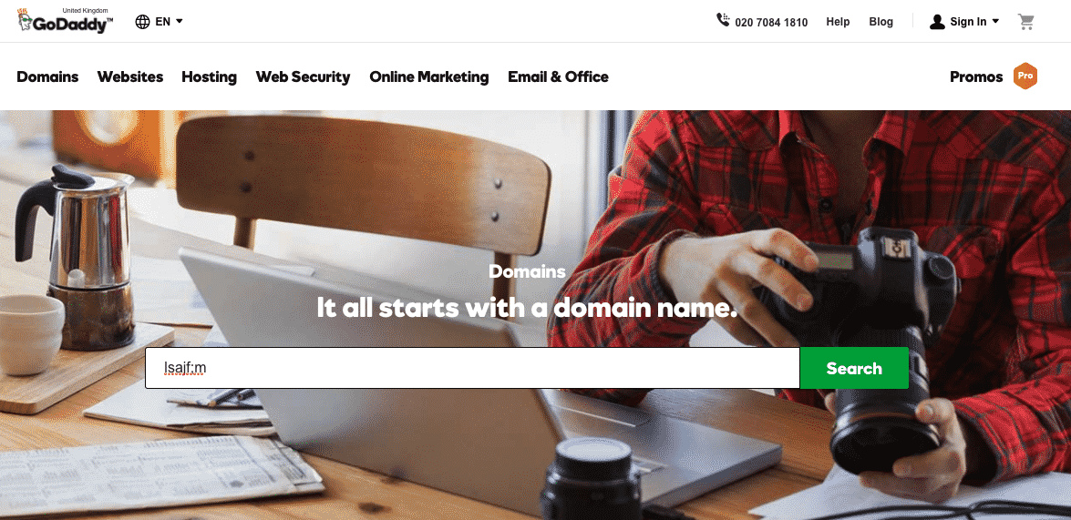 GoDaddy - The Largest Domain Name Registrar