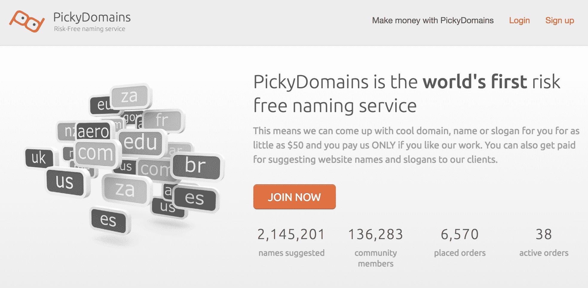 Picky Domains